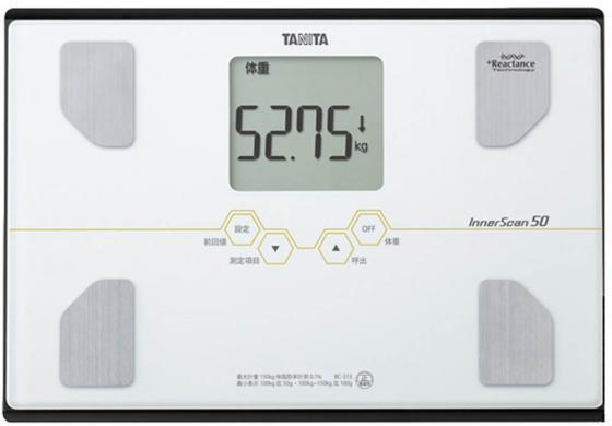 Весы напольные Tanita BC-313 белый алкотестер tanita hc 207