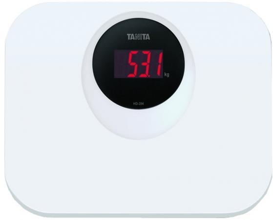 Весы напольные Tanita HD-394 белый весы напольные tanita hd 395 white