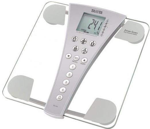 Весы напольные Tanita BC-543 прозрачный серый алкотестер tanita hc 207 инструкция