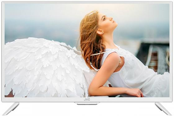 Фото - Телевизор — 24 JVC LT-24M585W белый 1366x768 60 Гц Wi-Fi USB HDMI телевизор 24 jvc lt 24m485 черный 1366x768 60 гц usb
