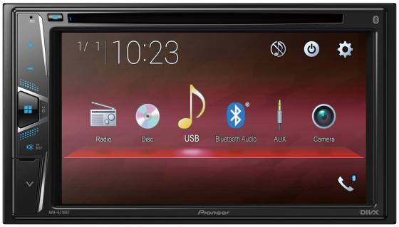 Автомагнитола CD DVD Pioneer AVH-G210BT 2DIN 4x50Вт