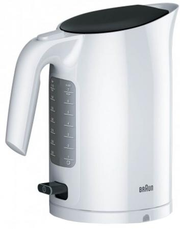 Чайник Braun WK3110WH 3000 Вт белый 1.7 л пластик цена