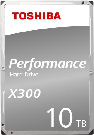 Жесткий диск Toshiba SATA-III 10Tb HDWR11AEZSTA X300 (7200rpm) 256Mb 3.5 Rtl жесткий диск toshiba sata iii 6tb hdwr160uzsva x300 7200rpm 256mb 3 5 bulk hdwr160uzsva