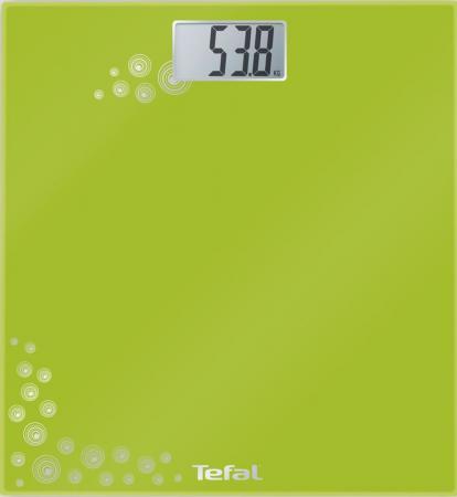 Весы напольные Tefal PP1003 зелёный весы напольные tefal bm6010 серебристый