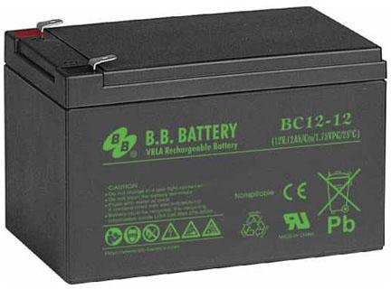 Батарея для ИБП BB BC 12-12 12В 12Ач батарея для ибп yuasa np18 12 12в 17 2ач