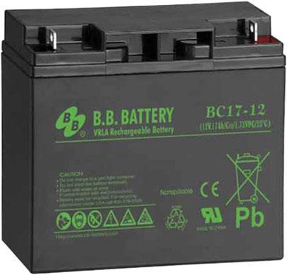 Батарея для ИБП BB BC 17-12 12В 17Ач батарея для ибп yuasa np18 12 12в 17 2ач