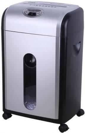 Шредер Buro Office BU-S1601D (секр.P-4)/фрагменты/16лист./18лтр./пл.карты/CD шредер buro bu fd504m fd504m