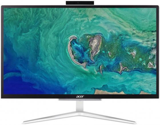 Купить Моноблок Acer Aspire C22-820 21.5 Full HD Cel J4005 (2)/4Gb/500Gb 5.4k/UHDG 600/Windows 10 Home/GbitEth/WiFi/BT/65W/клавиатура/мышь/Cam/серебристый/черный 1920x1080