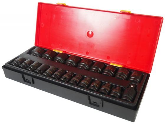 Набор головок JTC K4223 ударных 6-гранных 1/2 8-32мм в кейсе 22шт. jtc набор головок торцевых ударных 3 8 19 предметов jtc k3191