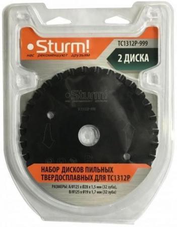 цена на TC1312P-999 Набор дисков армированных карбидом вольфрама Sturm!, для TC1312P, 2шт