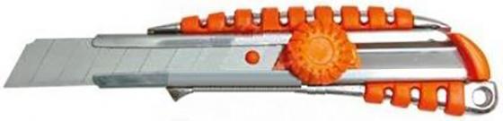 цена на Нож SKRAB 26722 18мм металлические направляющие обрезиненный металлич. корпус
