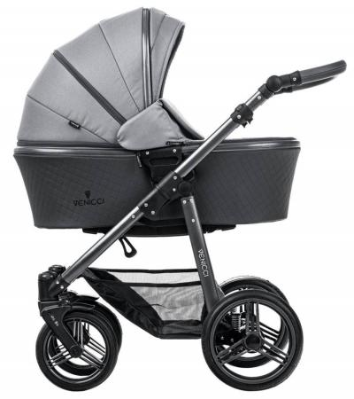 Коляска 2-в-1 Venicci Carbo (natural grey) коляска venicci gusto grey