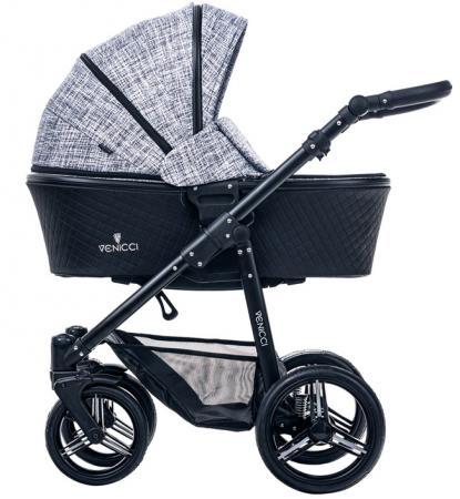 Коляска 2-в-1 Venicci Shadow (fashion black) детская коляска 2 в 1 esspero discovery grand шасси black