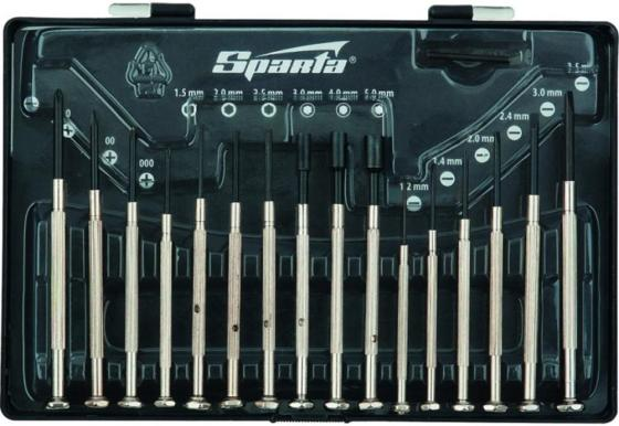 Набор отверток SPARTA 11783 для точной механики 16шт. цена