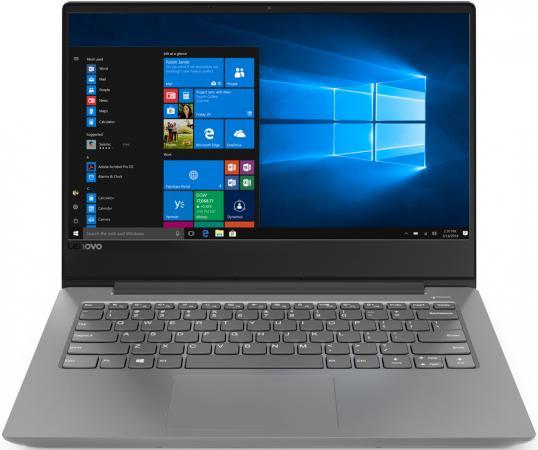 Ноутбук Lenovo IdeaPad 330s-14IKB 14 1920x1080 Intel Core i5-8250U 500 Gb 4Gb AMD Radeon 540 2048 Мб серый Windows 10 Home 81F4013SRU ноутбук lenovo ideapad 330s 14ikb 81f4013sru core i5 8250u 1 6 4gb 1tb 14 fhd ips radeon 540 2gb win 10 home gray