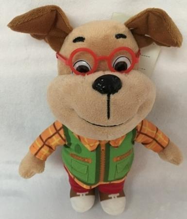 Мягкая игрушка собака МУЛЬТИ-ПУЛЬТИ ГЕНА 20 см плюш мягкая игрушка мульти пульти тиг 20 см