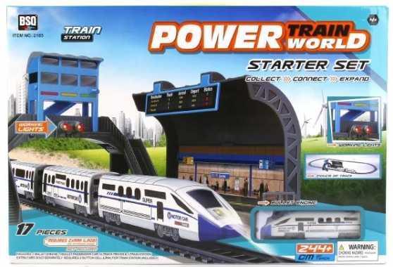 Железная дорога Shantou Power Train World с 3-х лет B1562031 железная дорога tongde электрическая железная дорога с 3 х лет t455 d4181