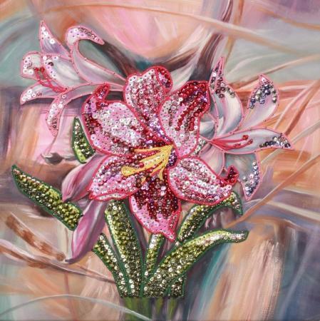 Мозайка из пайеток Волшебная мастерская Лилии волшебная мастерская мозаика из пайеток улитка