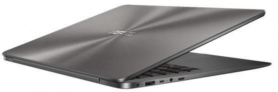 Ноутбук ASUS ZenBook BX430UA-GV617R 14 1920x1080 Intel Core i7-8550U 256 Gb 16Gb Intel UHD Graphics 620 серый Windows 10 Professional 90NB0EC1-M15040 ноутбук asus zenbook ux3400ua gv541t 14 1920x1080 intel core i7 7500u 512 gb 16gb intel hd graphics 620 розовый windows 10 home 90nb0ec4 m13050