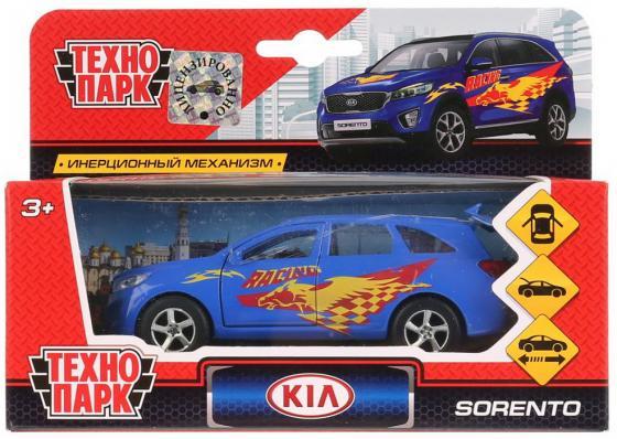 цены Машина металл KIA Sorento Prime спорт 12см, открыв. двери, инерц. в кор. ТМ Технопарк в кор.2*24шт