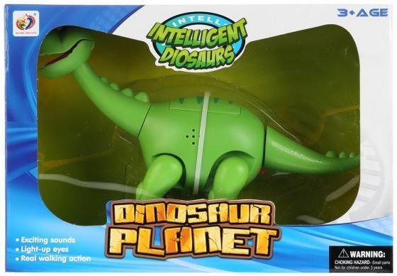 """Интерактивная игрушка Shantou """"Динозавр"""" от 3 лет зелёный стоимость"""