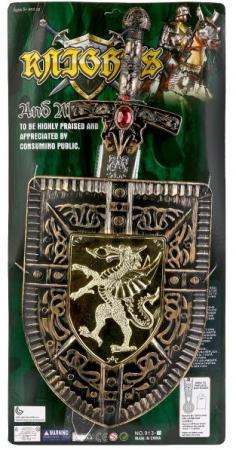 цены Набор оружия Shantou Gepai Набор оружия (щит+меч) озвуч. 913-A