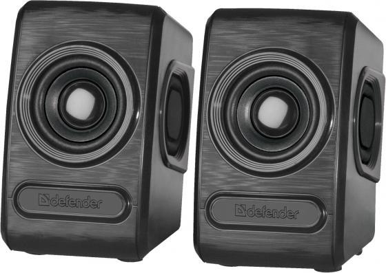Колонки Defender Q3 2.0 Black 2x3 Вт, 50-20000 Гц, mini Jack, USB недорого