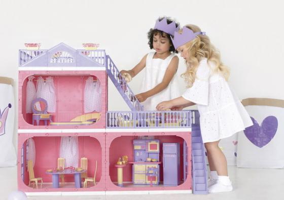 Фото - Домик для кукол Огонек Коттедж Маленькая принцесса огонек коттедж маленькая принцесса