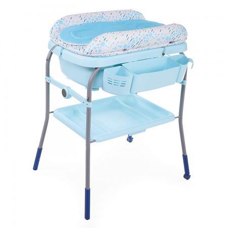 Стол пеленальный с ванночкой Chicco Cuddle & Bubble Comfort (ocean) chicco eletta comfort silver