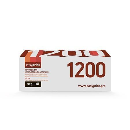 Фото - Картридж EasyPrint LK-1200 черный (black) 3000 стр. для Kyocera ECOSYS M2335/2735/2835 картридж easyprint lk 895k черный для лазерного принтера