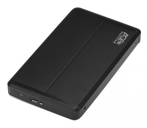 "AgeStar 3UB2S USB 3.0 Внешний корпус 2.5"" SATAIII, алюминий, черный"