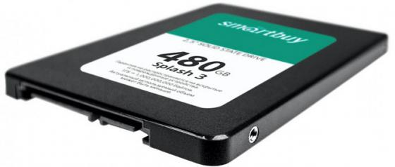 Smartbuy SSD 480Gb Splash 3 SB480GB-SPLH3-25SAT3 {SATA3.0, 7mm} цена и фото