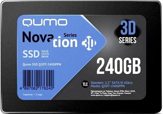 "Твердотельный накопитель SSD 2.5"" 240 Gb QUMO Q3DT-240GPBN Read 560Mb/s Write 540Mb/s TLC 90 degrees angle gold plating hdmi v1 4 male to female adapters black golden 5 pcs"