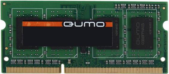 Оперативная память 4Gb (1x4Gb) PC3-12800 1600MHz DDR3 SO-DIMM CL11 QUMO QUM3S-4G1600K11 все цены