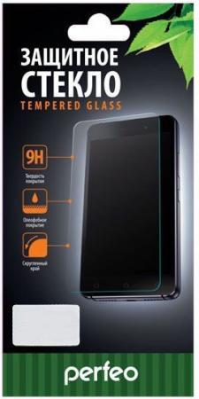 Фото - Защитное стекло 2.5D Perfeo PF_A4469 для iPhone XS Max чёрное защитное стекло pero 3d для iphone xr чёрное