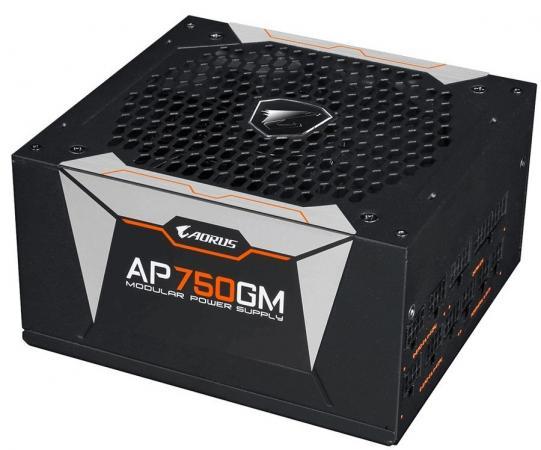 Блок питания ATX 750 Вт GigaByte AORUS GP-AP750GM-EU цена и фото