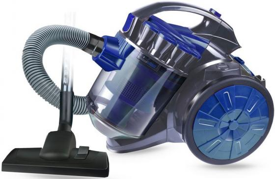 цена на Пылесос GINZZU VS419 сухая уборка серый синий