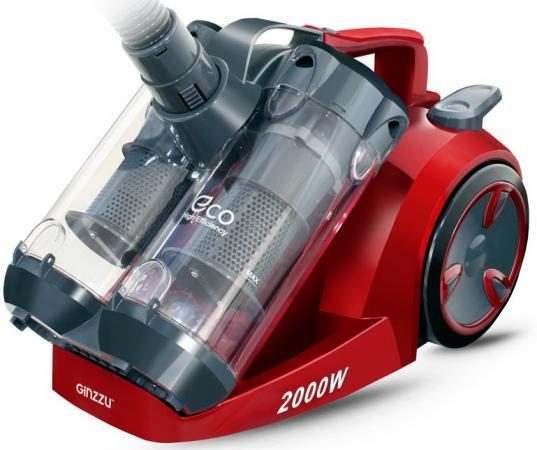 цена на GiNZZU VS439 сер/красный пылесос без мешка