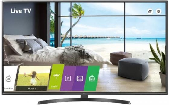 Телевизор LED 43 LG 43UU661H черный 3840x2160 50 Гц Wi-Fi Smart TV RJ-45 Bluetooth Для наушников