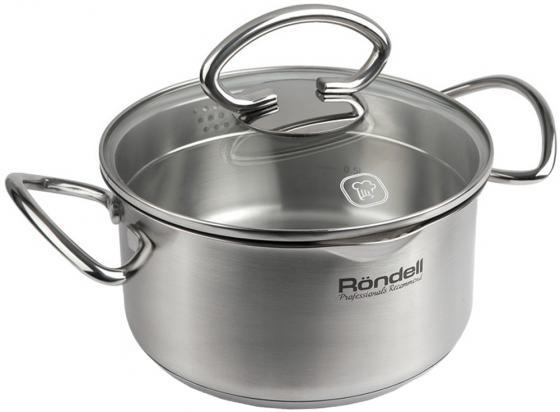 Кастрюля Rondell Edel 24 см 5.1 л нержавеющая сталь кастрюля rondell edel 24 см 5 1 л нержавеющая сталь