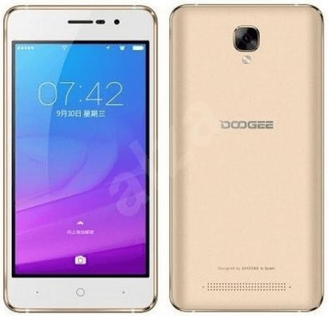 Смартфон Doogee X10s золотистый 5 8 Гб Wi-Fi GPS 3G Bluetooth смартфон