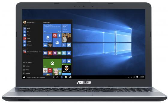 Ноутбук ASUS X541UV-DM1609 15.6 1920x1080 Intel Core i3-6006U 1 Tb 8Gb nVidia GeForce GT 920MX 2048 Мб серебристый Endless OS 90NB0CG3-M24160 ноутбук lenovo ideapad 320 17 17 3 1920x1080 intel core i3 6006u 500 gb 4gb nvidia geforce gt 920mx 2048 мб черный dos 80xj003mrk
