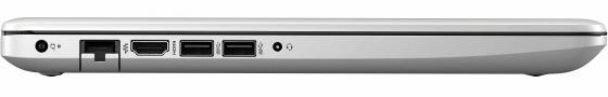 """Ноутбук HP 15-da0079ur 15.6"""" 1920x1080 Intel Core i3-7020U 128 Gb 4Gb Intel HD Graphics 620 серебристый Windows 10 Home 4JU53EA цена и фото"""