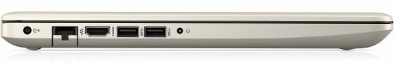 Ноутбук HP 15-db0197ur 15.6 1920x1080 AMD A4-9125 500 Gb 4Gb Radeon R3 золотистый Windows 10 Home 4MY28EA
