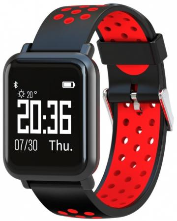 Jet Sport SW-4 red Умные спортивные часы jet sport sw 5 red умные спортивные часы