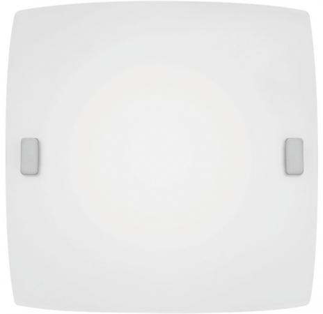 Светильник настенно-потолочный EGLO BORGO 83241 1X60W E27 сталь сатиновое стекло белый цены онлайн