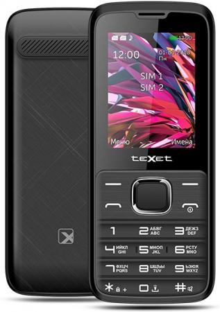 teXet TM-D430 черный Мобильный телефон цена