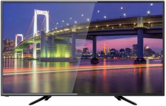 Телевизор 32 Hartens HTV-32R01-T2C/B черный 1366x768 50 Гц USB VGA HDMI