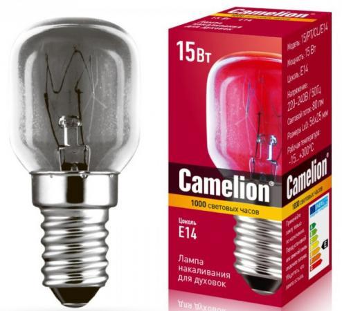 Лампа накаливания цилиндрическая Camelion MIC-15/PT/CL/E14 E14 15W 2700K 12979 лампа накаливания цилиндрическая camelion mic 15 p cl e14 e14 15w 2700k