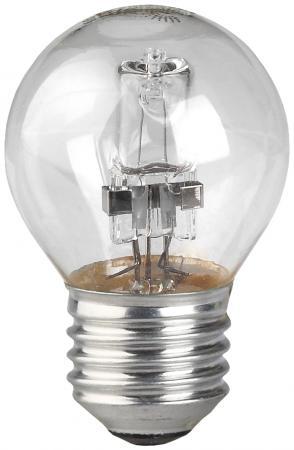 Лампа галогенная шар Эра Hal-P45-28W-230V-E27-CL E27 28W 3000K лампы галогеновая шар g45 28w e27